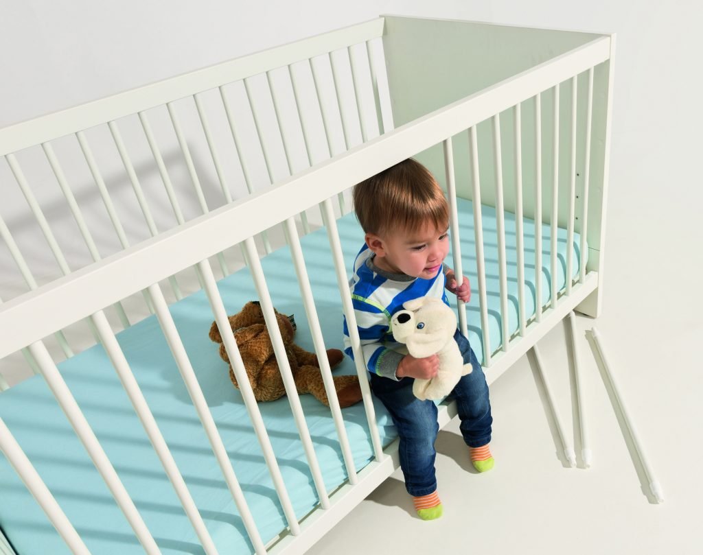 What to do with cot bed when the baby turns into a toddler